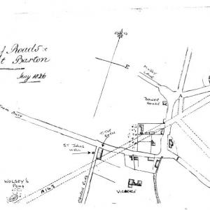 Plan of Road May 1826